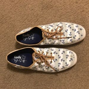 Keds Taylor Swift anchor sneakers striped shoes